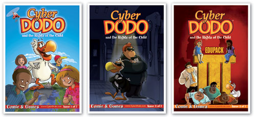 Albums 1, 2 and 3 of the CyberDodo and Children's Rights Edupack