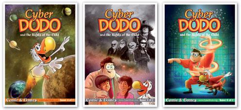 """Álbumes 4, 5 y 6 del Edupack """"CyberDodo y los derechos del niño"""""""