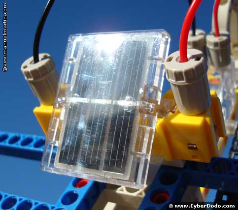 Create electricity using only the sun