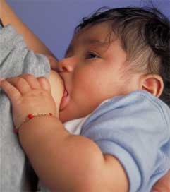 There is nothing better for babies than their mothers' milk.