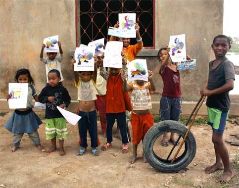 'île aux enfants'from Madagascar