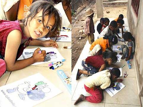 «L'île aux enfants», de Madagascar