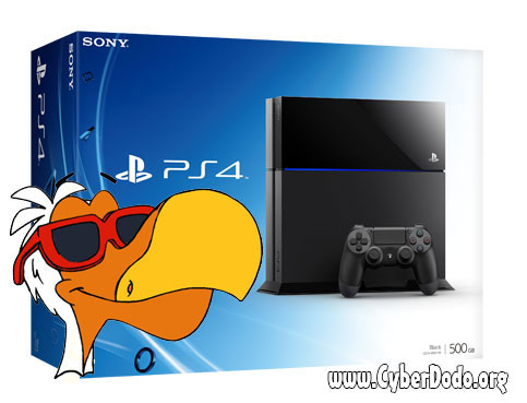 A new SONY PS4 console to be won by our prize winner for the competition for the months of September and October 2014