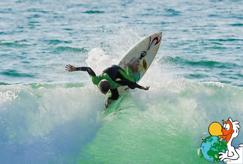 Kyllian Guerin, a CyberDodo Ambassador, has a dream: to become the world surfing champion!