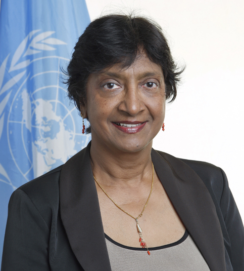 Mrs Navanethem Pillay, UN High Commissioner for Human Rights
