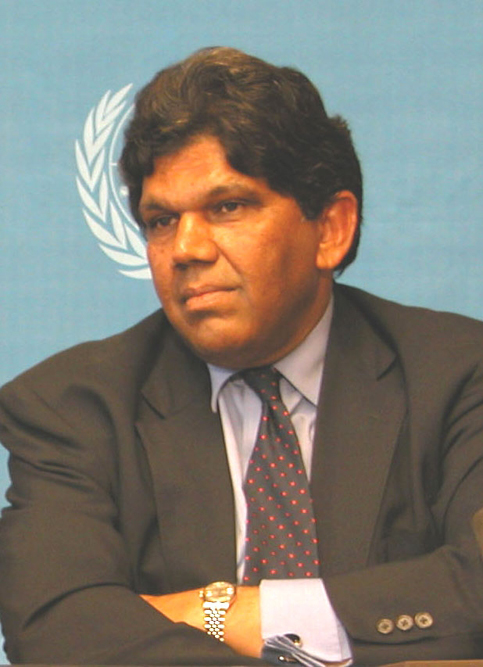 Mr. Bertrand Ramcharan, UN High Commissioner for Human Rights
